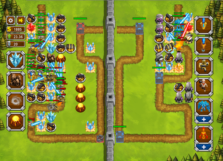 Tower Storm - multiplayer tower defense game
